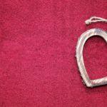 Pendentif en forme de coeur